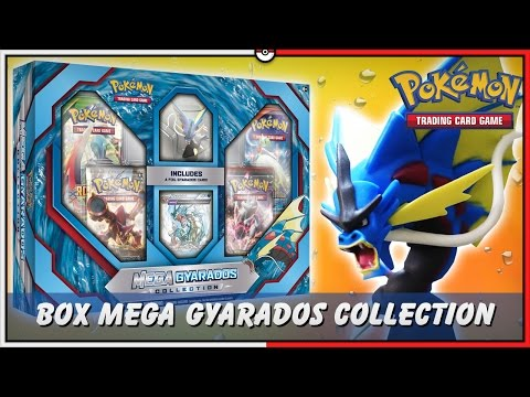 Pokémon TCG: UNBOX MEGA GYARADOS COLLECTION COM BONECO ÉPICO