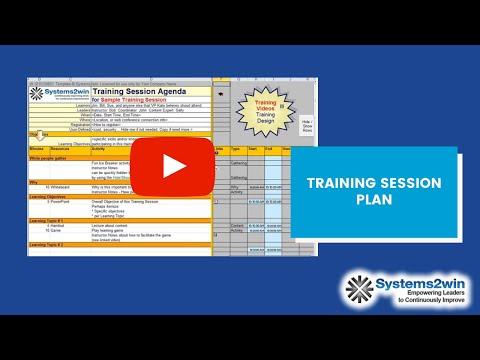 Training Session Planning Checklist