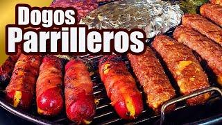 HOT DOGS MONSTRUOSOS !! 2 Versiones | CHEESE BURGER DOG | TOQUE Y SAZÓN