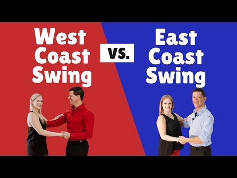 West Coast Swing vs East Coast Swing