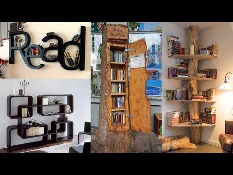 50+ Creative Bookshelves ideas | Unique Bookshelf Decor