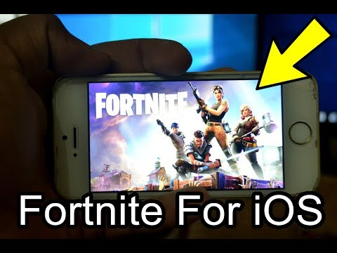 How To Download FORTNITE On iOS Devices Easily Under A Minute On iPhone SE  ! Works On All iPhones !