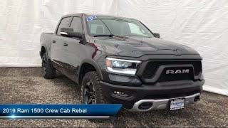 Download 2019 Ram 1500 Crew Cab Rebel Carthage Watertown Gouverneur Syracuse Utica Video