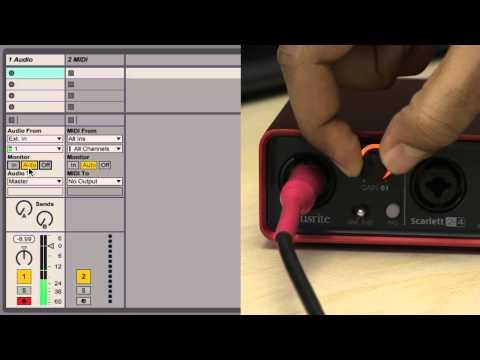 Ableton Live 9 Tutorial - Part 3: Recording Audio