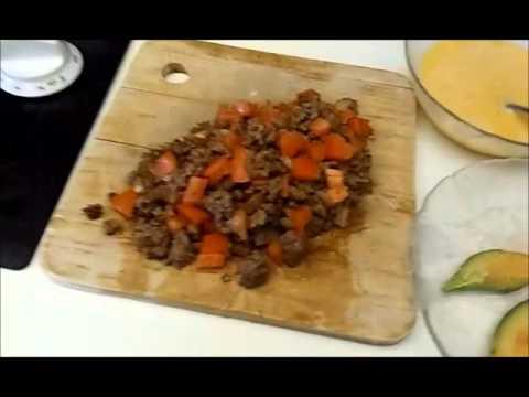 Easy Loaded Omelette