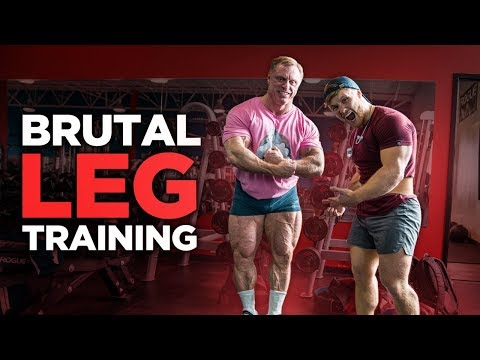 Brutal Leg Day with The Mountain Dog... (Painful)