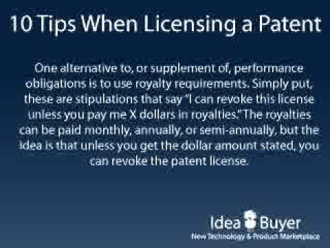 License a Patent