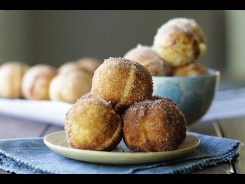 Baked Doughnut Holes Recipe | The Inspired Home