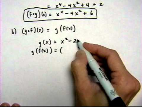 find composite functions #2 - (cr).mov