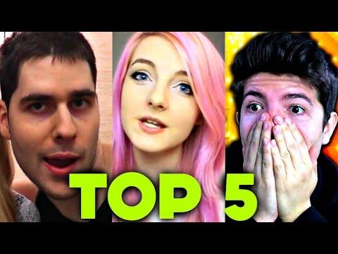 Top 5 Kid-Friendly Minecraft Channels 2017 (Aphmau, LDShadowlady, PrestonPlayz, Popularmmos, DanTDM)