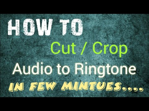 How to Cut/Crop Song into Ringtone on Android|| Easy Method For Android User - Must Watch |||MAY|||