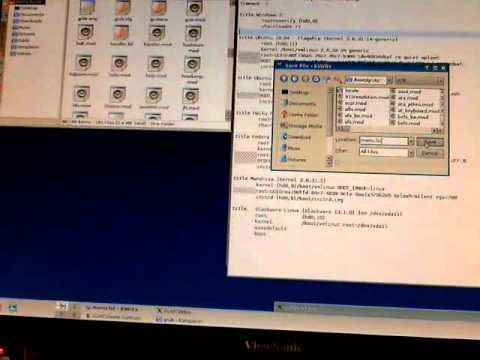 Upgrade to Grub 1 from Grub 2 in Ubuntu 10.04 - Part 3