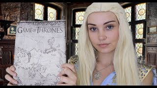 asmr game of thrones roleplay daenerys targaryen heals you and discusses war
