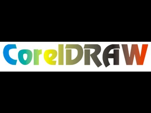How to make a gradient text in coreldraw