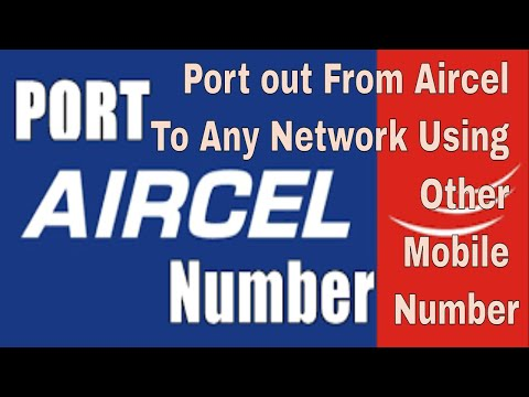 Port out From Aircel Without Aircel Network || Find Sim Number by Android App