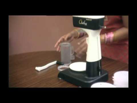 Oritha Naveeno95 Idiyappam / String Hopper Maker - Preparing the Machine