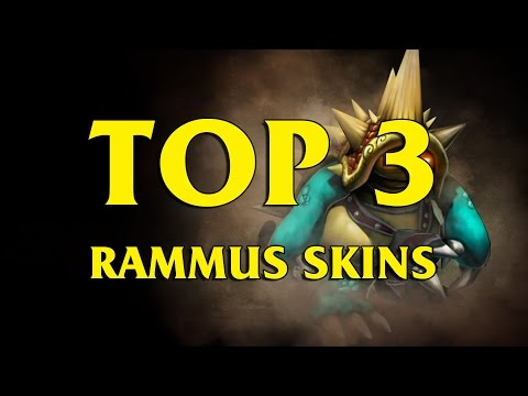 TOP 3 Custom Rammus Skins League of Legends