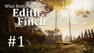 What Remains of Edith Finch Gameplay German #1 - Let's Play What Remains of Edith Finch Deutsch