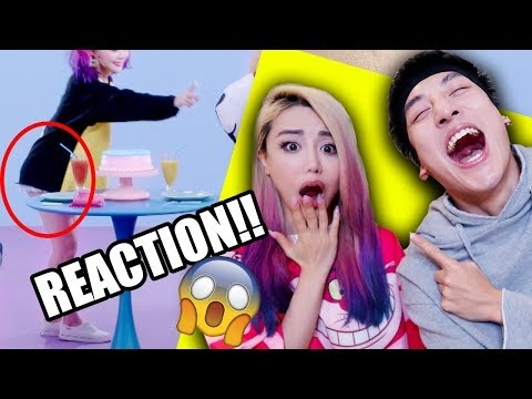 I PRANKED Wengie REACTS to her own Music Video | Watch till end for Got7 Jackson
