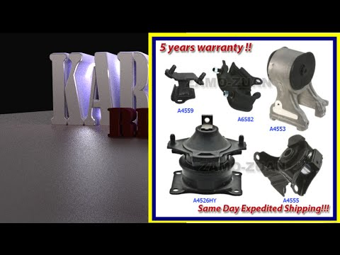 2005 Odyssey EX motor mount replacement Pt2