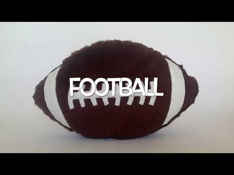 Football Plush Cushion
