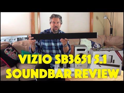 Vizio SB3651 5.1 Soundbar with Chromecast & Bluetooth - REVIEWED!