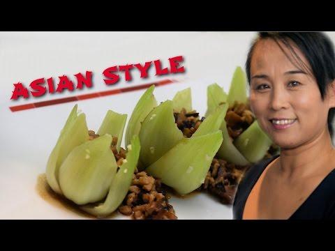Chinese Pak Choi & Pork Shiitake Recipe (Chinese Style Cooking)