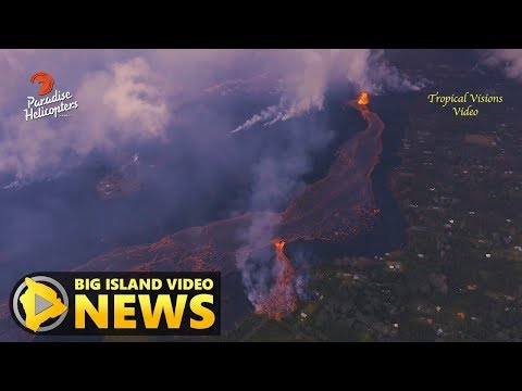 Hawaii Volcano Eruption Update - Thursday Night (May 31, 2018)