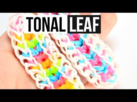 Tonal Leaf Bracelet | Rainbow Loom Tutorial | One Loom