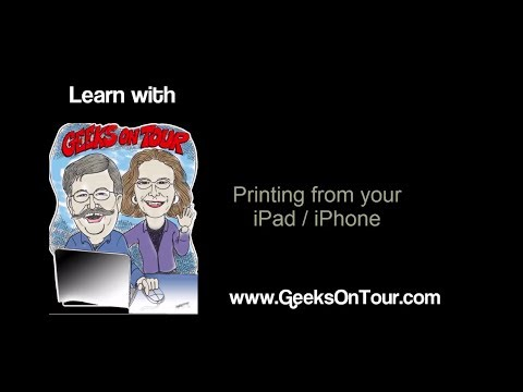 334 How to print from iPad /iPhone with non Airprint Printer