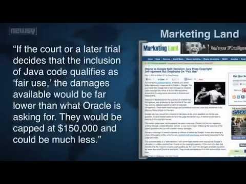 Fair Use Deadlock In Google Oracle Trial699