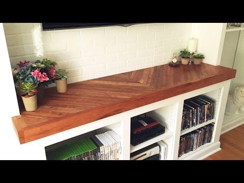 DIY Wooden Countertop