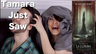 The Curse of La Llorona - Tamara Just Saw
