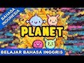 Download  Lagu Belajar Inggris | Planet | Lagu Anak Terpopuler 2019 | Bibitsku MP3,3GP,MP4