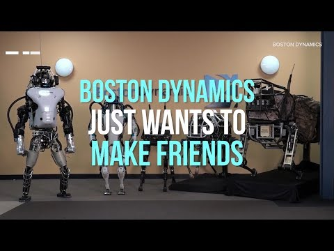 Meet Boston Dynamics' family of robots