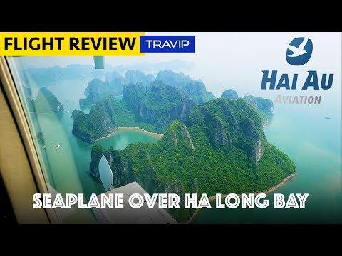TRIP REPORT: Hai Au Seaplanes to Ha Long Bay | Travip Flight Review