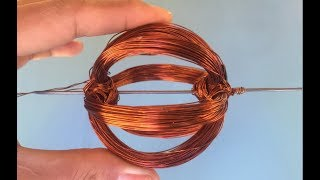 How to make 2000RPM  DC motor , science school project for learning