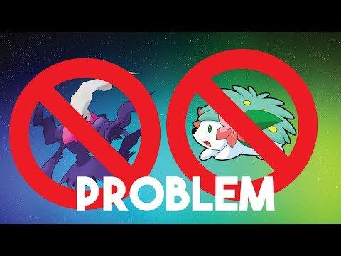 A Problem with Obtaining Shiny Shaymin and Darkrai Legit...