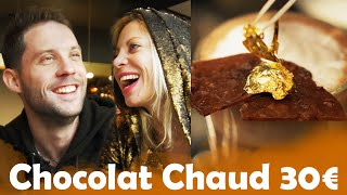 Chocolat Chaud à 4,40€ VS  à 30€ avec Doully !
