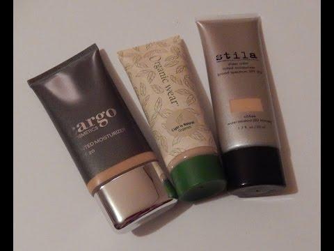 HAUL - Tinted Moisturizer  - Juice Beauty - Stila - Cargo - Physicians Formula Organic Wear