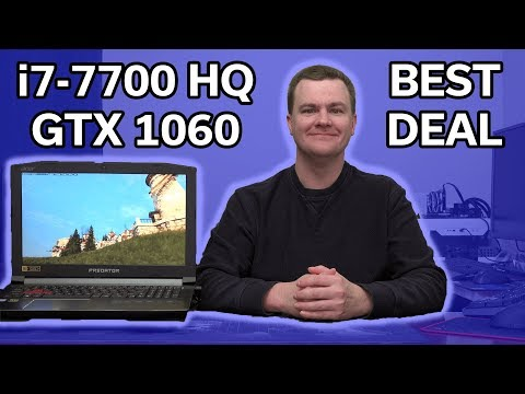 Acer Predator Helios 300 - Best Deal on an i7 Gaming Laptop