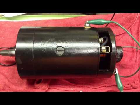 Model 58 Harley Generator Motor Test