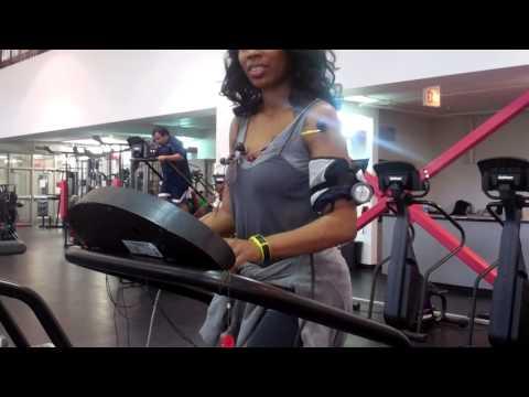 VID00616 demo of treadmill stress test