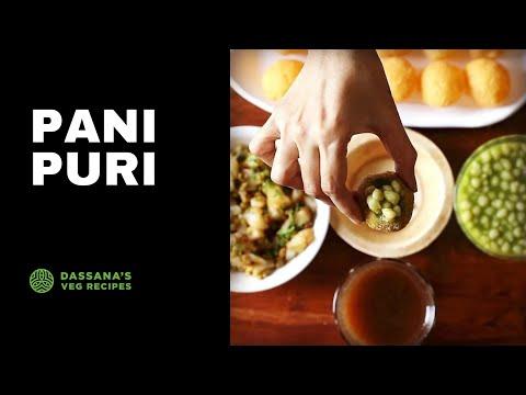 pani puri recipe - pani puri recipe - how to make mumbai style pani puri recipe