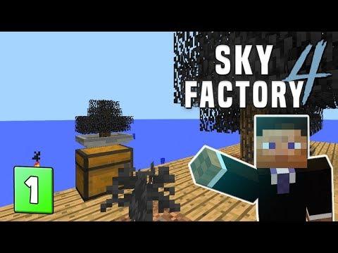 SkyFactory 4 - EP 1 Over the Sea - PakVim net HD Vdieos Portal