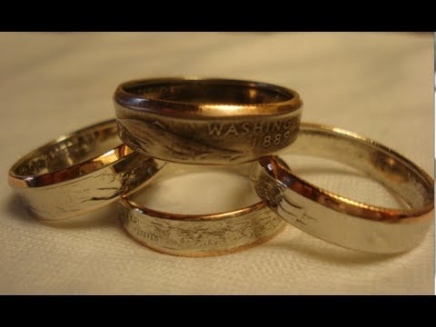 Make Double Sided Rings out of Coins - Tips for Beginners