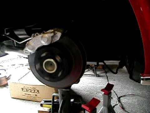 Corvette Rear spindle
