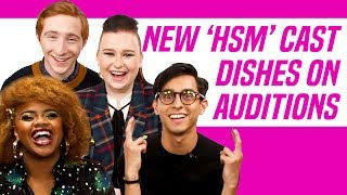 High School Musical: The Musical: The Series Cast Talks Auditions, Fave HSM Songs, and More