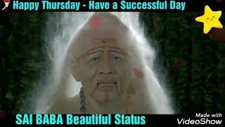 30 Sec Beautiful Sai Baba Thursday Status For Wts App