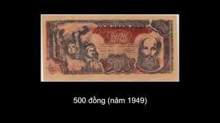 Tiền Việt Nam qua các thời kỳ lịch sử